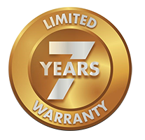 7 Year Limited Warranty